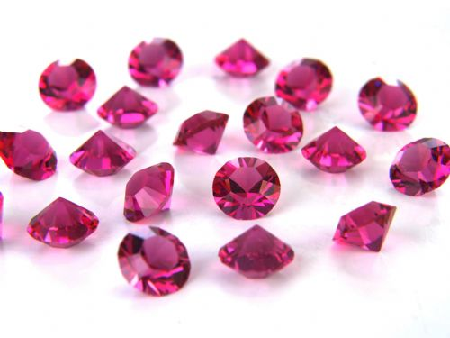 Pk 100 Swarovski Unfoiled Table Crystals, Style 1088, SS24 (5.5mm), Ruby